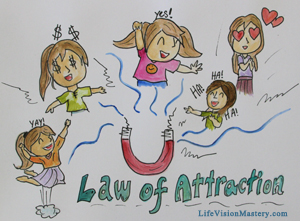law of attraction: joy