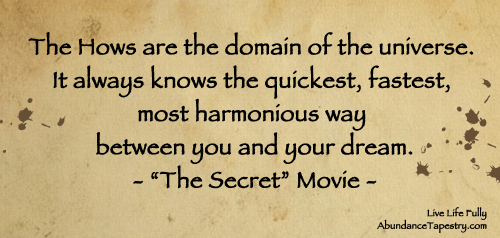 Law of attraction movie quotes