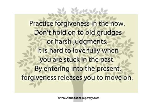 love forgiveness