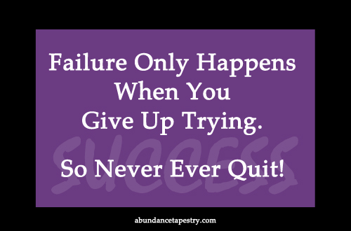 quitting should never be an option Don't make quitting an option and never give up let's think today  her a quote  for you rajat poonia and we can have even more than one.