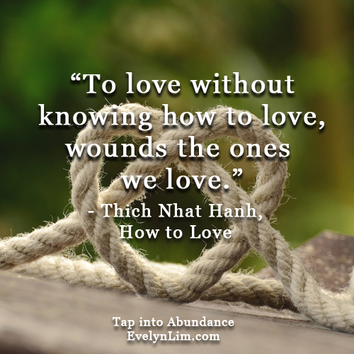 how to love-thich nhat hanh