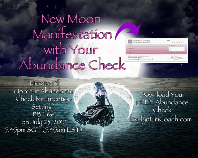 New Moon Manifestation Abundance Check