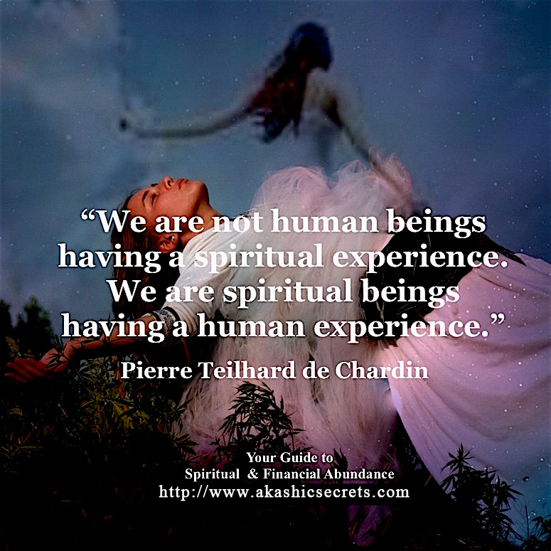 spiritual being in human experience