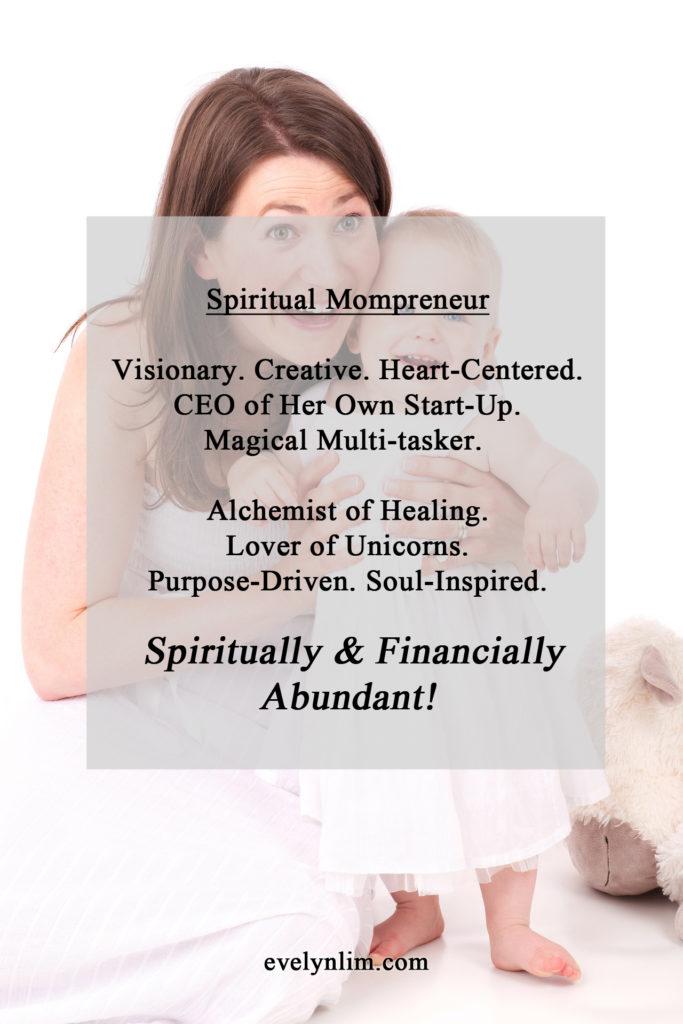 spiritual mompreneur