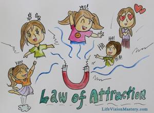 law of attraction: joy