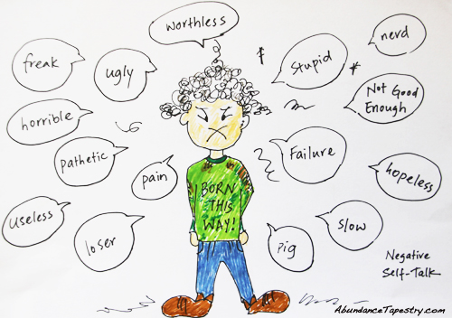 negative labels in your self-talk