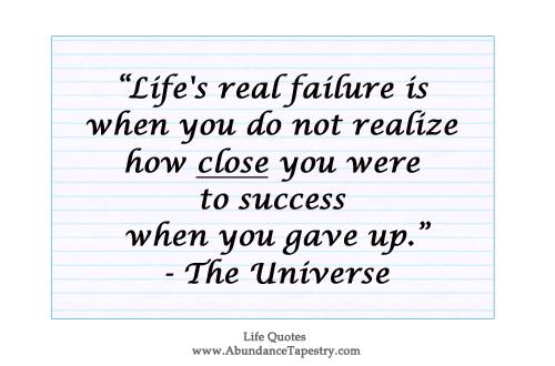 Lifeu0027s Real Failure