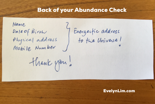 graphic relating to Printable Abundance Check named Down load Your Totally free Abundance Examine Right here - Abundance Teach