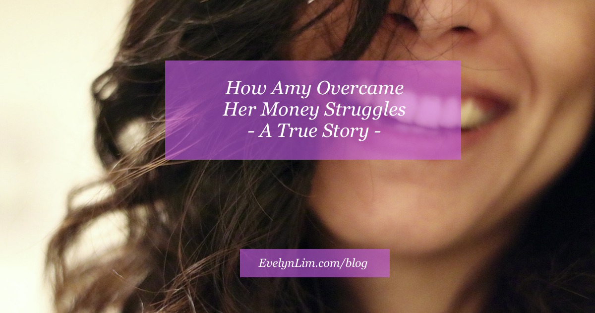 amy overcame money struggles