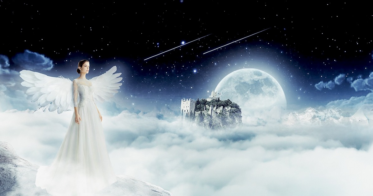 Angel in my Dream: The world is your oyster quote