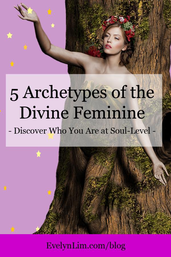 archetypes divine feminine pinterest