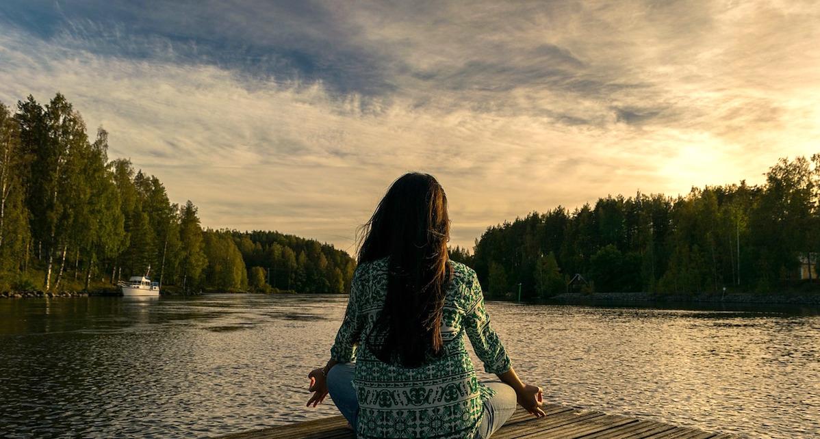 destress meditation let go