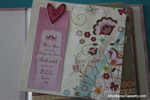 gratitude journal scrapbook