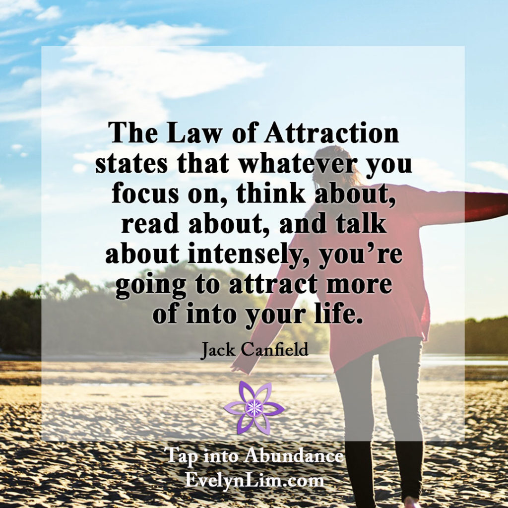 Law of Attraction Quote: Focus