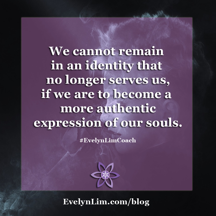 lose the identity and realign with soul quote