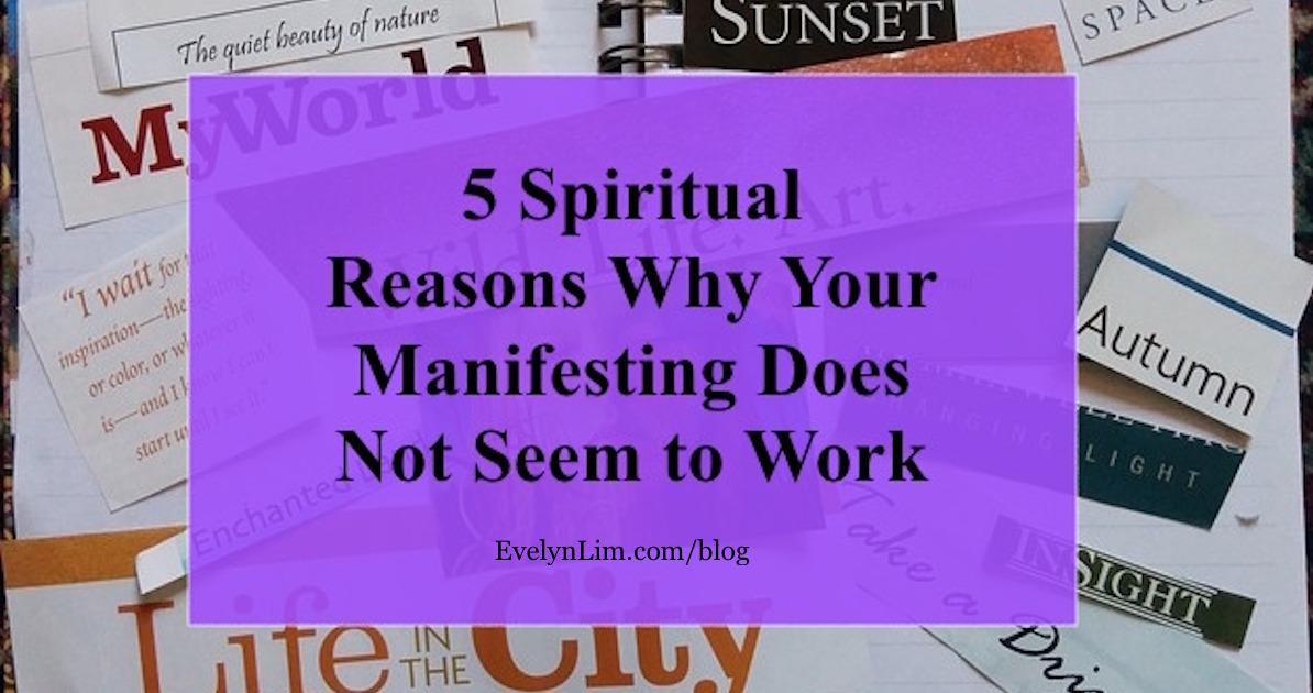 manifesting does not work
