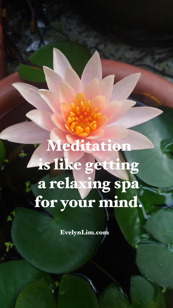 meditation spa quote