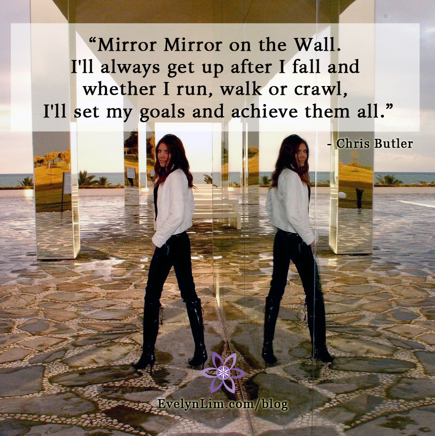 Mirror Power of Intention Setting Goals
