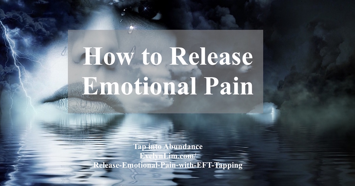 release emotional pain with eft
