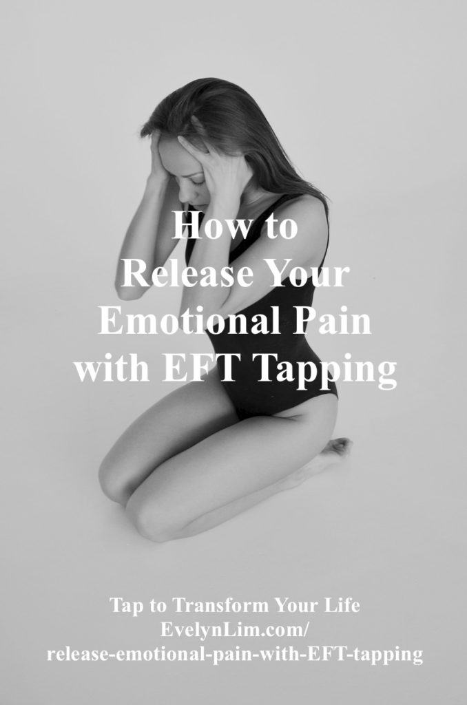 emotional pain relief with EFT tapping
