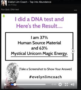 spiritual quiz result