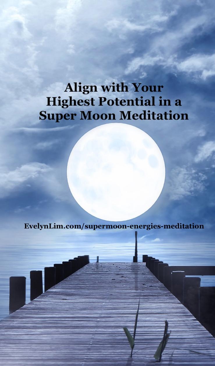 supermoon meditation
